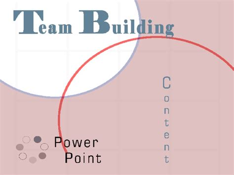 team building template team building powerpoint
