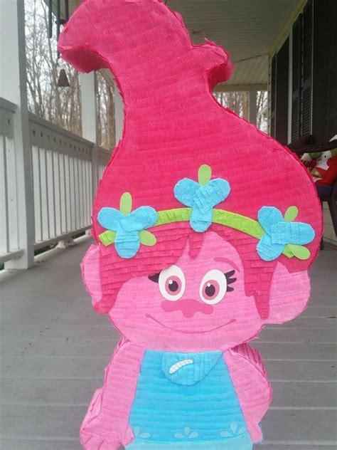 Pinata Trolls By Pinata Dimi trolls birthday trolls pinata poppies etsy and