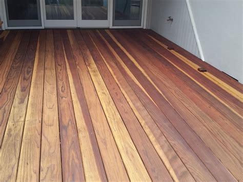 Old Redwood Deck   Cal Preserving