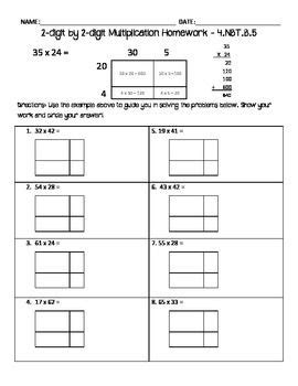 4 Nbt 5 Worksheets by 1000 Ideas About Multiplication Sheets On