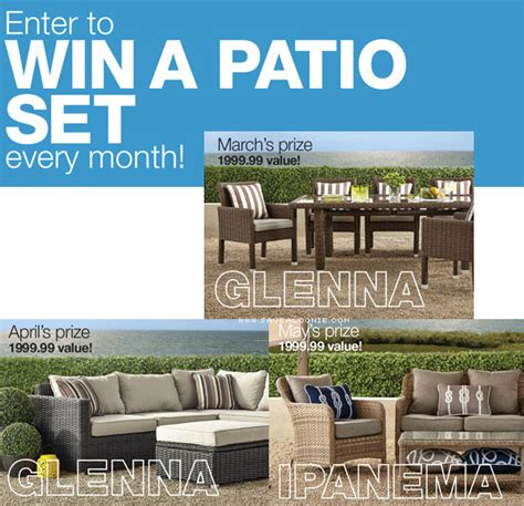 home outfitters patio set contest deals from savealoonie