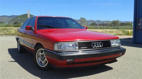 auto manual repair 1987 audi 5000cs auto manual 1987 audi 5000cs turbo quattro 5 speed for sale on bat auctions sold for 5 001 on june 2