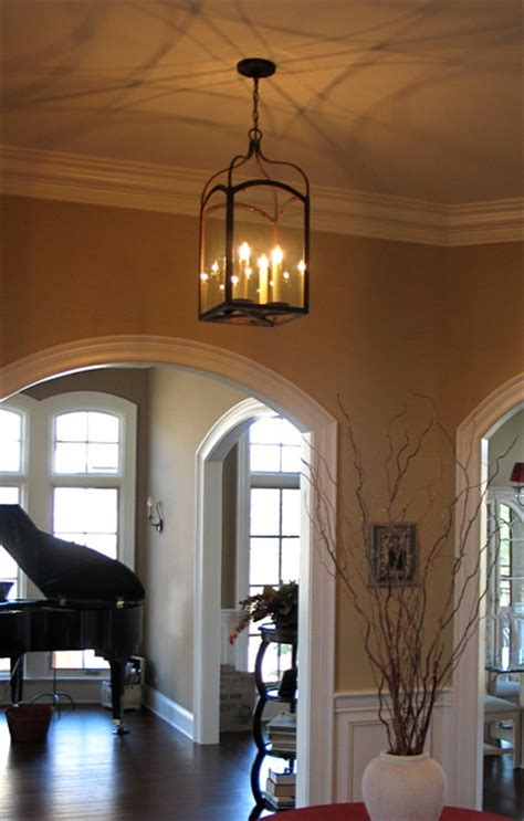 Foyer Hallway Foyer Hallway Lighting Transitional Entry Chicago