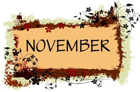 november printable banner november holidays clipart clip art library