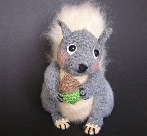 amigurumi squirrel pattern crochet 103 best amigurumi chipmunks squirrels images on