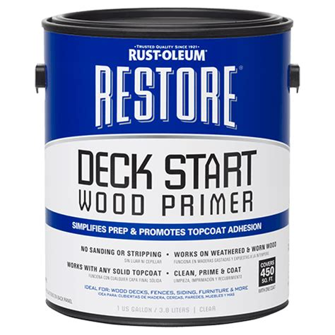 restore deck start wood primer