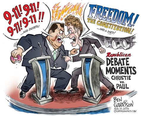 kimmel american and boy doll candidates debate great gop debate moments christie vs paul ben garrison