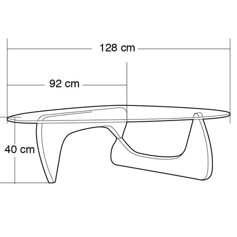 Noguchi Coffee Table Dimensions 152 Best Measure Images On Couches Chairs And Sofa