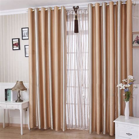 5 kinds of living room curtains