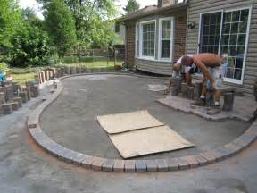 Backyard Patio Designs With Pavers Brick Paver Patio Ideas Patio Design Ideas