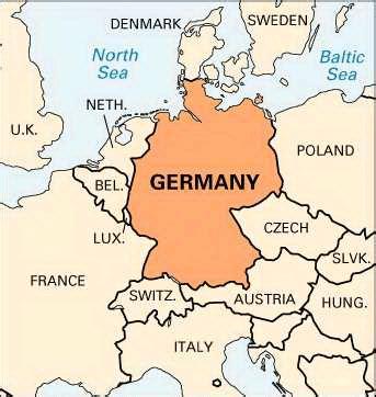 germany location map germany location encyclopedia children s