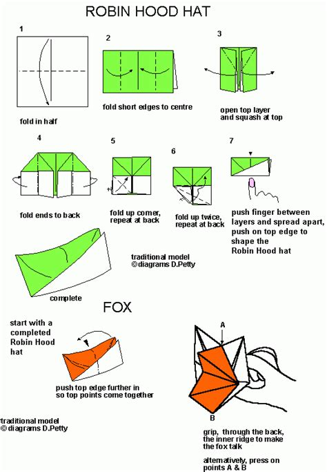 How To Make A Paper Hat A4 - 37 forage cap talking fox