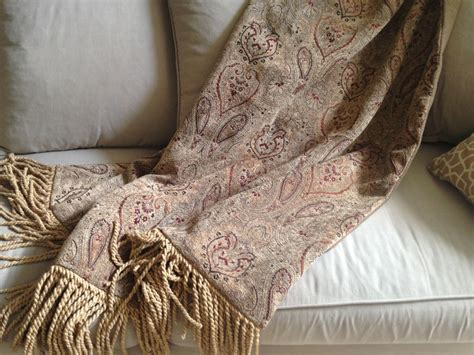 Paisley Throw Blanket Chenille Throw Tapestry Hanging Sofa