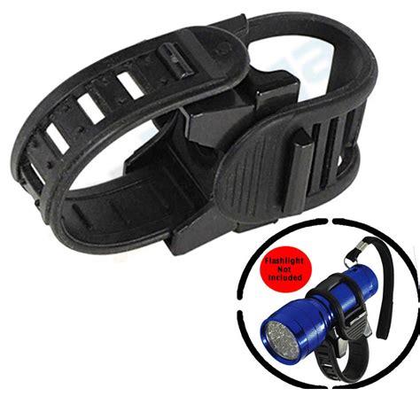 Bike Mount Holder For Flashlight Promo bicycle flashlight torch light bike holder mount sports universal grip new