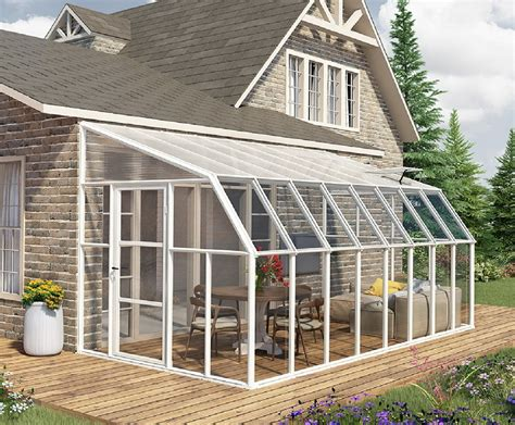 greenhouse room addition rion sun room 2 8 x 20 lean to greenhouse lean to greenhouses poly tex sun rooms