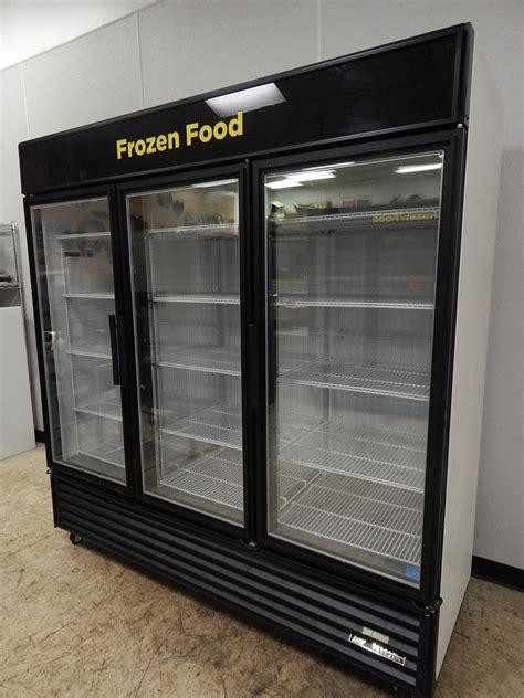 3 Glass Door Freezer True 3 Glass Door Merchandising Freezer Gdm 72f Ld