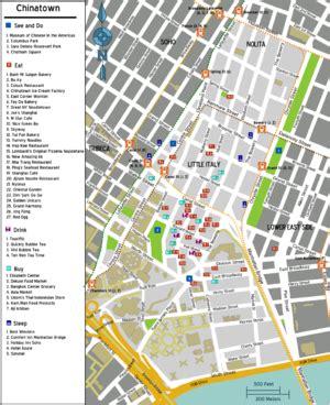 houston chinatown map new york ville manhattan chinatown wikitravel