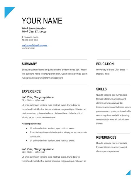 Microsoft Resume Templates Free by Free Resume Templates Microsoft Office Health Symptoms