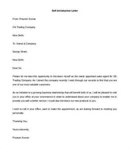 Personal Introduction Letter For Business Letter Of Introduction Template 8 Free Word Pdf
