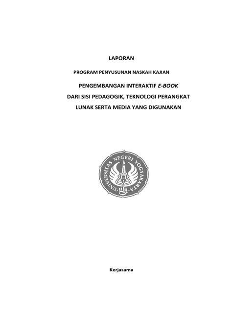 LAPORAN PENGEMBANGAN INTERAKTIF E-Book