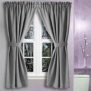 36 Curtains Buy Avalon 36 Inch X 54 Inch Bath Window Curtain In Grey