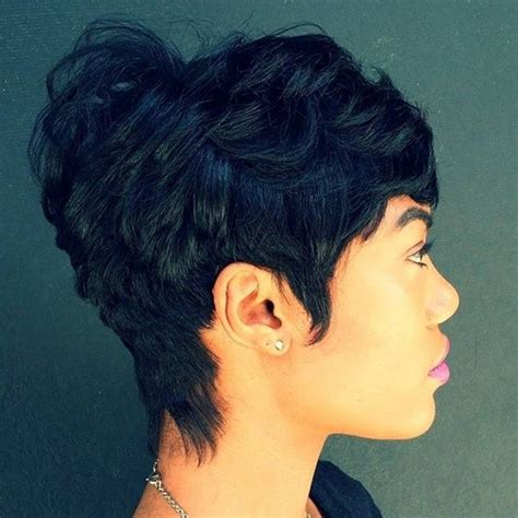 short haircuts black hair woman 80 amazing short hairstyles for black women bun braids
