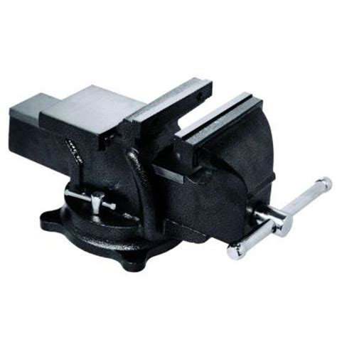 heavy duty bench vise bessey 6 in heavy duty bench vise with swivel base bv hd60 the home depot