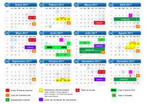 Calendario 2017 Y 2018 Mexico Eventos Y Seminarios 2017