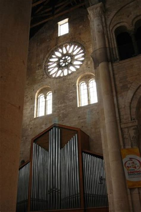 cattedrale di trani interno interno e organo a canne picture of cattedrale di trani