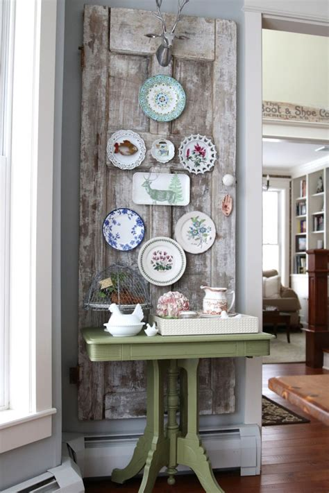 vintage home decorating ideas decorating ideas vintage door plate wall finding home farms