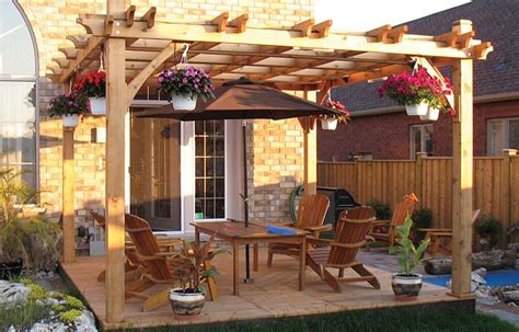 pergola with deck how to maintain a deck or pergola