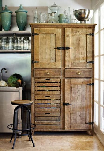 Wood Pantry Cabinet For Kitchen York Pantry Cupboard Traditional Pantry Cabinets By Block Chisel
