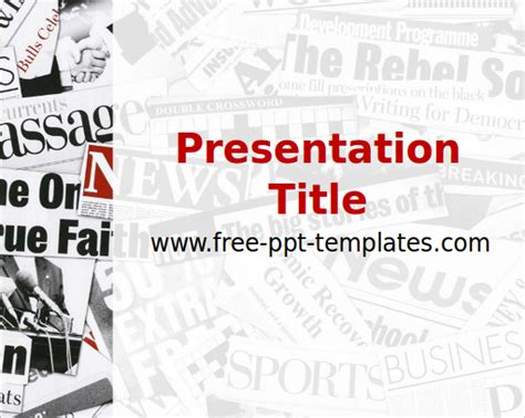 ppt templates for research paper presentation 15 powerpoint newspaper templates free sle exle