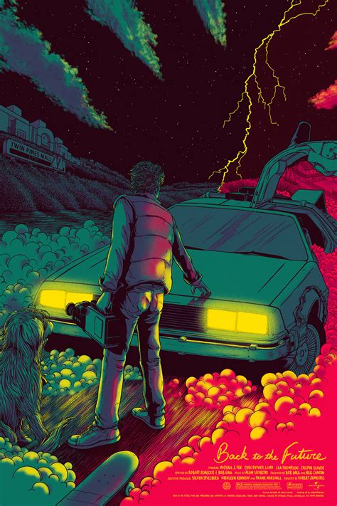 Mondo celebrates future day with back to the future posters amp the full