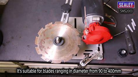 bench mounted circular saw sealey bench mounted circular saw tct blade sharpener