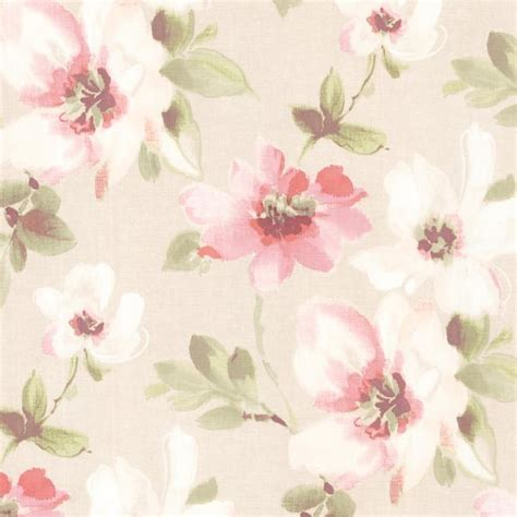 floral wallpaper for walls lynette rose watercolour floral wallpaper traditional