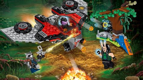 Lego Superheroes 76079 Ravager Attack M Ship 76079 Ravager Attack Products Marvel Heroes Lego