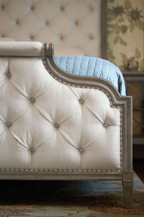Upholstered Bed Bernhardt Upholstered Headboards With Wood Trim