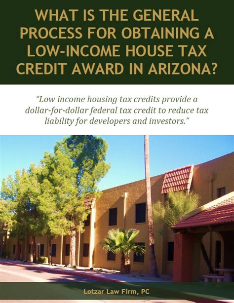 low income housing tax credit free report general process for obtaining low income house tax credit in arizona