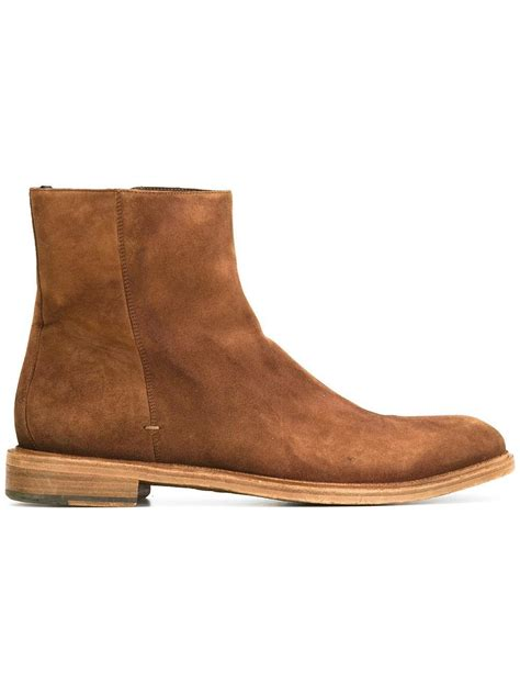 Handmade Chelsea Boots - handmade brown suede chelsea boot ankle boot