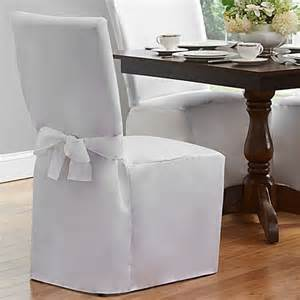 Covering Dining Room Chair Seats Dining Room Chair Cover Bed Bath Beyond