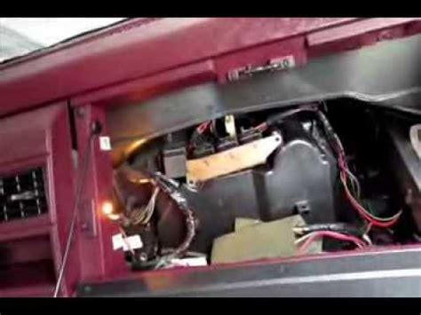 blower motor resistor location 1996 silverado how to change blower motor resistor silverado tahoe suburbam 88 98