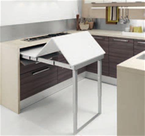 cucina con tavolo a scomparsa cucine con tavolo a scomparsa il segreto per ottimizzare