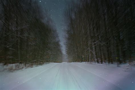 wallpaper sunlight forest night hill outdoors snow