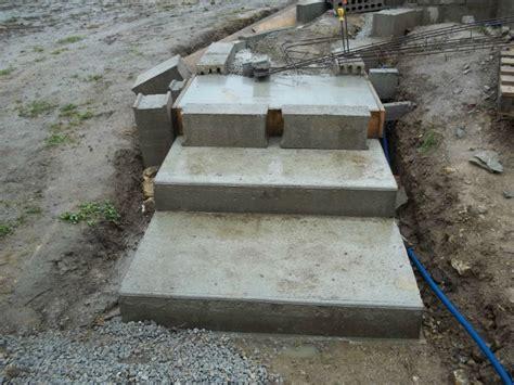 Comment Construire Un Escalier En B Ton 3795 by Terrasse B 233 Ton Sur 233 Lev 233 De 46m 178 Avec Des Marches B 233 Ton