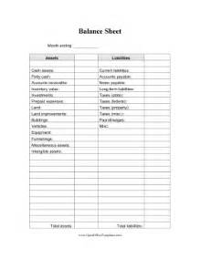 blank balance sheet openoffice template