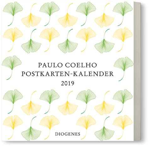Postkarten Kalender Drucken by Diogenes Verlag Postkarten Kalender 2019