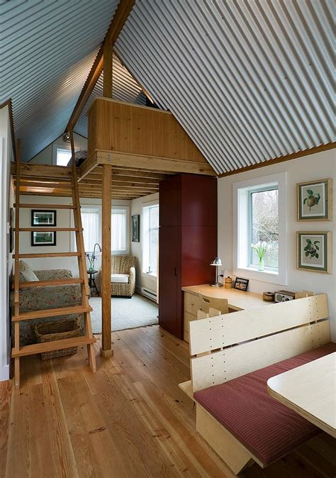 tiny home interior floating guest house