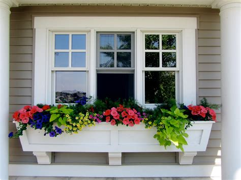 Planter Windows by Fall Garden Decor Window Boxes