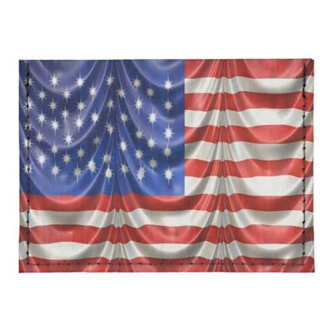 american flag draped american flag draped